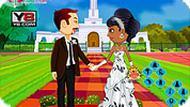 Игра Красивые свадебные наряды