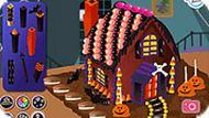Игра Хэллоуин дом