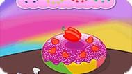 Игра Вкусные пончики