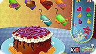Игра День рождения: торт