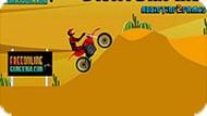 Игра Мотоцикл пустыни