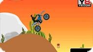 Игра Мотоцикл пустынь