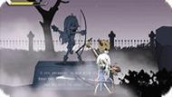 Игра Приключения на кладбище