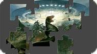 Игра Пазл динозавры