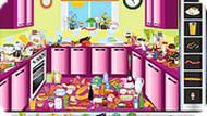 Игра Наводим порядок на кухне