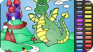 Весёлый дракон