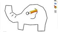 Игра Рисуем слона