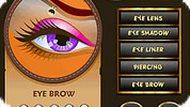 Игра Красивый макияж глаз