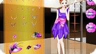 Игра Фиолетовая девочка