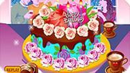Игра Красивый вкусный торт