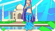 Игра Одевалка индийской девочки