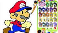 Игра Раскраска Марио