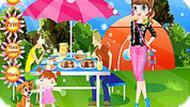 Игра Семья на пикнике