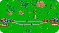 Игра Цветные вагоны