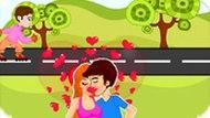Игра Поцелуй у дороги