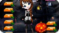 Игра Девочка Хэллоуин