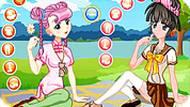 Игра 2 принцессы аниме