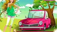 Игра Машина Барби