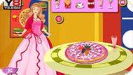 Игра Барби-пицца