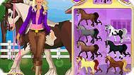 Игра Лошадь для Барби