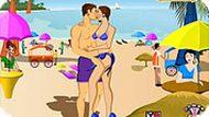Игра Поцелуи на пляже
