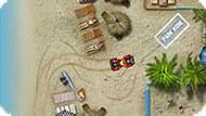 Игра Пляж: парковка