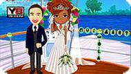 Свадьба на лодке