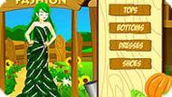 Игра Мода овощей