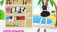 Игра Платье на пляж
