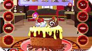 Игра Красивый шоколадный торт