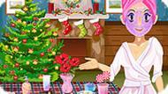 Игра Макияж: рождество
