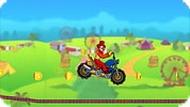 Игра Цирк: мотоцикл