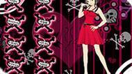 Игра Одевалка девочки эмо