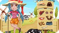 Игра Девочка на ферме