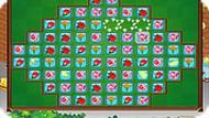 Игра Цветы три в ряд
