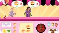 Игра Еда для девочек