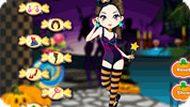 Игра Конфеты на Хэллоуин