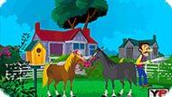 Игра Поцелуй лошади