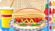 Игра Приготовьте хот-дог