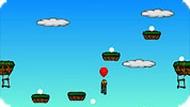 Игра Полёт на шарике