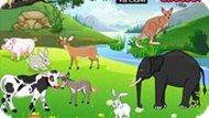 Игра Расставь животных