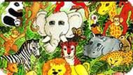 Игра Животные джунглей