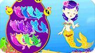 Игра Одевалка русалки