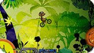 Игра Обезьяна на велосипеде