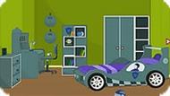 Комната с машиной