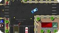 Игра Парковка машины по городу