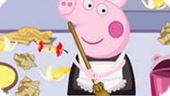 Игра Свинка Пеппа: уборка