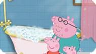 Игра Свинка Пеппа: в ванной