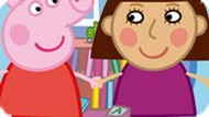 Игра Свинка Пеппа: пазлы