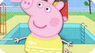 Игра Свинка Пеппа в бассейне